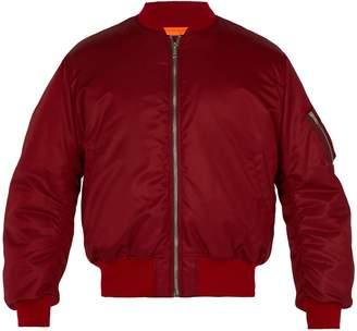 Calvin Klein Embroidered padded bomber jacket
