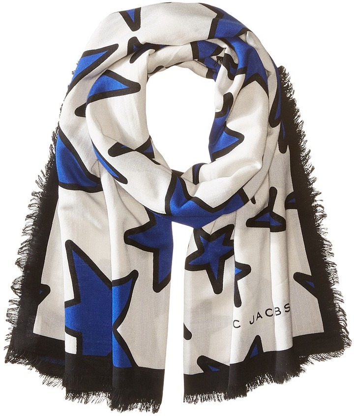 Marc Jacobs - Stars Stole Scarves