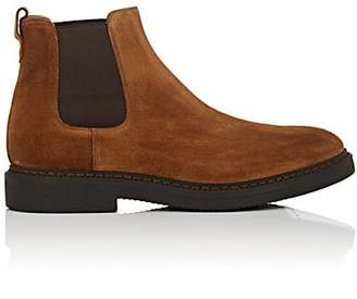 Franceschetti Men's Suede Chelsea Boots - Med. brown