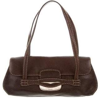 Tod's Pebbled Leather Shoulder Bag
