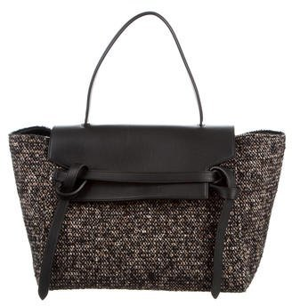 CelineCéline Small Tweed Belt Bag
