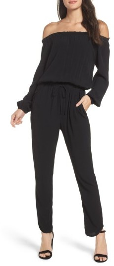 Women's Fraiche By J Off The Shoulder Jumpsuit