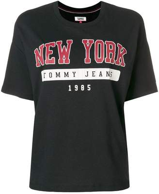 Tommy Jeans New York logo T-shirt