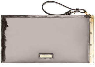 BCBGMAXAZRIA Zelda Faux-Leather Wristlet Clutch