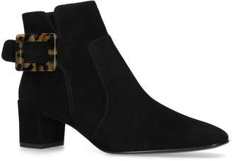 Roger Vivier Suede Polly Boots 45