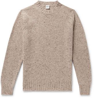 Aspesi Mélange Slub Wool Sweater