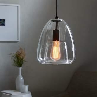 Duo Walled Pendant - Single Light