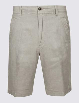 Marks and Spencer Linen Rich Shorts