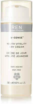 Ren Skincare V-cense Youth Vitality Day Cream, 50ml - Colorless