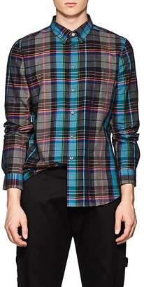 Paul Smith Men's Plaid Cotton Shirt