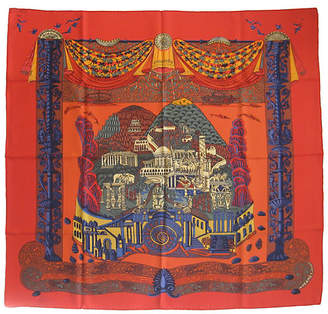 One Kings Lane Vintage Hermès L'Atlantide Scarf