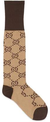 Gucci Interlocking G cotton socks