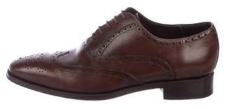 Canali Leather Oxford Brogues