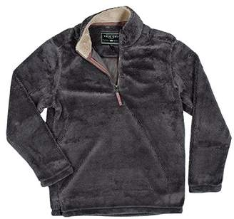 True Grit Men's Pebble Pile 1/2 Zip Pullover