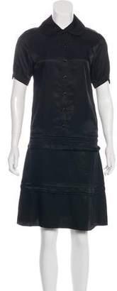 Celine Short Sleeve Knee-Length Dress