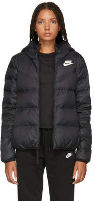 Nike Reversible Black NSW Windrunner Down Jacket