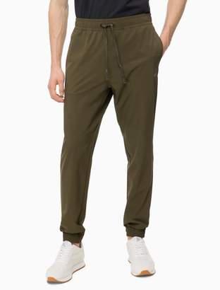 Calvin Klein logo drawstring jogger sweatpants