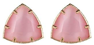 14th & Union Triangle Stone Stud Earrings
