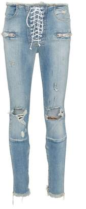 Unravel Project Skinny stonewash ripped skinny jeans 34d1945b6a3
