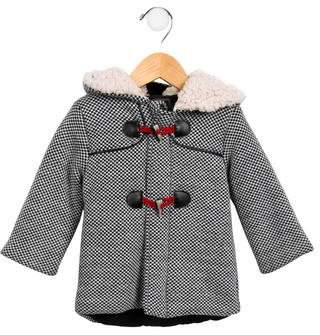 Catimini Patterned Hooded Coat
