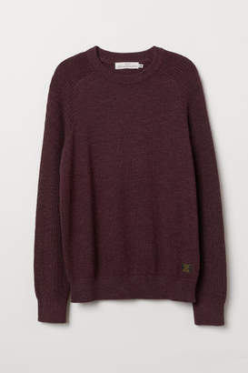 H&M Fine-knit Cotton Sweater - Pink