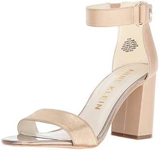 Anne Klein Women's Watchme Leather Dress Sandal