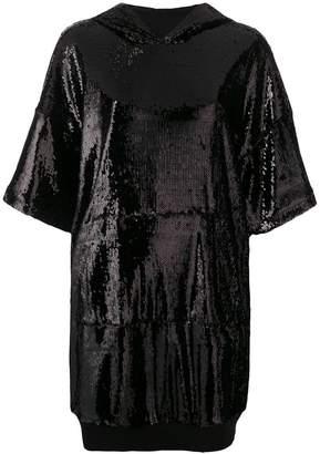 Gaelle Bonheur embellished hooded dress