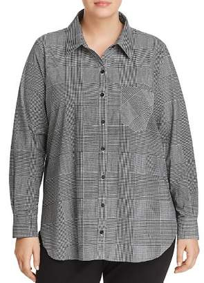Lysse Plus Schiffer Plaid Shirt