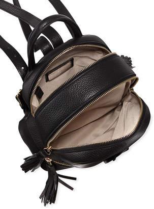 Mario Valentino Valentino By Xavier Tassel-Zip Leather Backpack