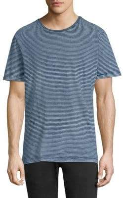 AG Jeans Striped Crewneck Tee