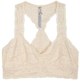 Free People Galloon Ivory Lace Bra Top