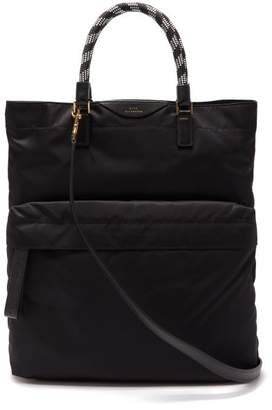 Anya Hindmarch Bungee Cord Handle Tote Bag - Womens - Black