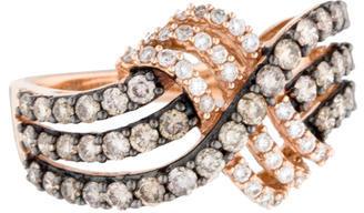Le Vian 14K Diamond Crossover Band $1,045 thestylecure.com