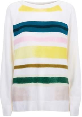 Lamberto Losani Stripe Cashmere Sweater