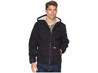 Dickies Sanded Duck Sherpa Lined Hooded Jacket