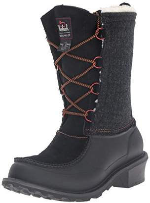 Woolrich Women's Fully Wooly Lace Snow Boot