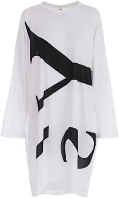 Y's T-shirt M/l Over Lunga Logo