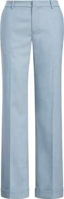 Ralph Lauren Wool-Blend Wide-Leg Pant