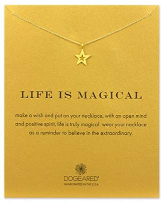 Dogeared Good Luck Gold Plated Elephant Reminder Necklace 45.72cm Pehve57YTS