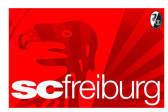 Fanmarken SC Freiburg Zimmerfahne