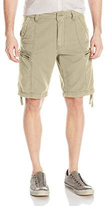Jet Lag Men's Flat Zipped Pockets Cargo Short