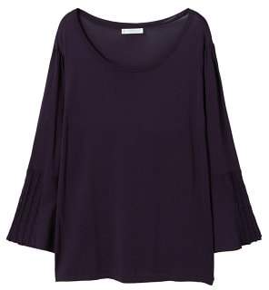 Violeta BY MANGO Flared sleeves sweater
