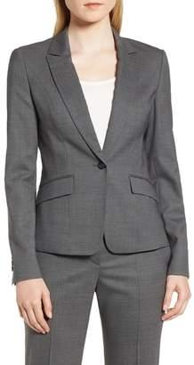 BOSS Janore Minidessin Jacket (Regular & Petite)