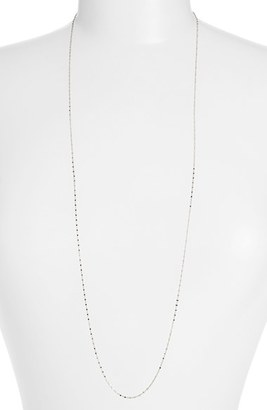 Women's Bony Levy Beaded Chain Long Necklace (Nordstrom Exclusive) $595 thestylecure.com