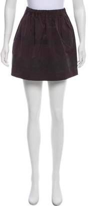 Brunello Cucinelli Striped Mini Skirt
