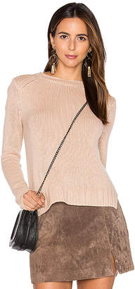 Inhabit Rib Cashmere Sweater in Blush $407 thestylecure.com