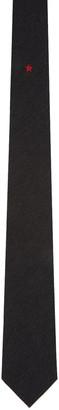 Givenchy Black Star Tie $195 thestylecure.com