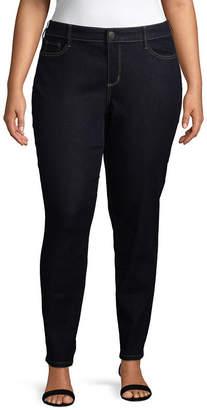 Boutique + + Slim Fit Skinny Jean - Plus