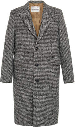 Privee Salle Adrian Wool Overcoat