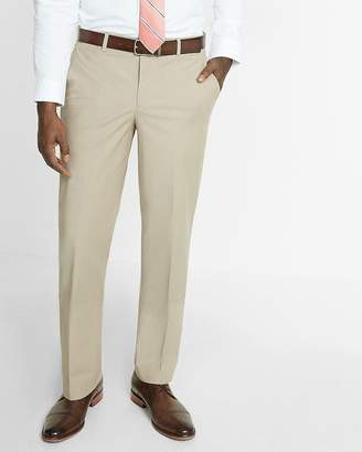 Express Relaxed Chambray Stretch Dress Pant